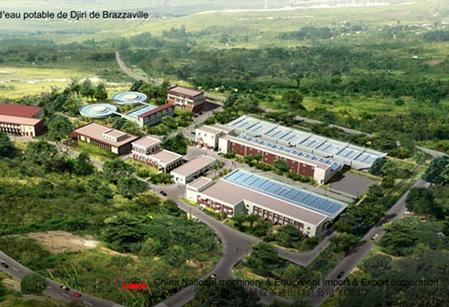 刚果吉利引用水厂二期新建工程