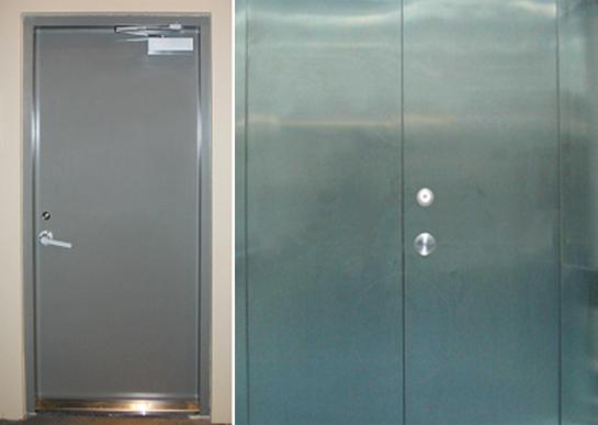 钢质密闭门